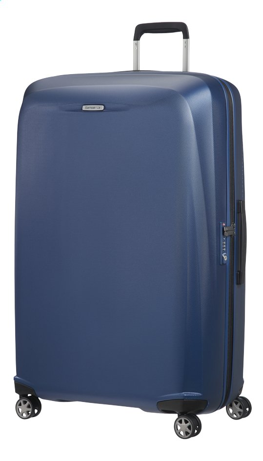 Afbeelding van Samsonite Harde reistrolley Starfire Spinner blue 82 cm from ColliShop