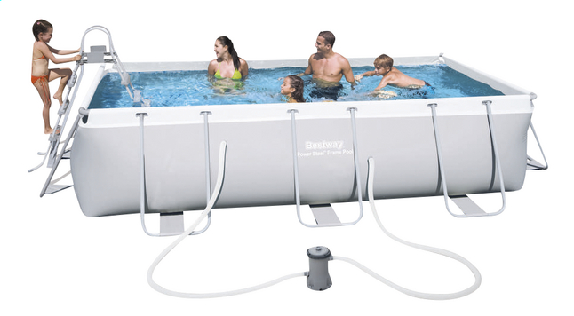 Image pour Bestway piscine Power Steel Frame L 4,04 x Lg 2,01 m à partir de ColliShop