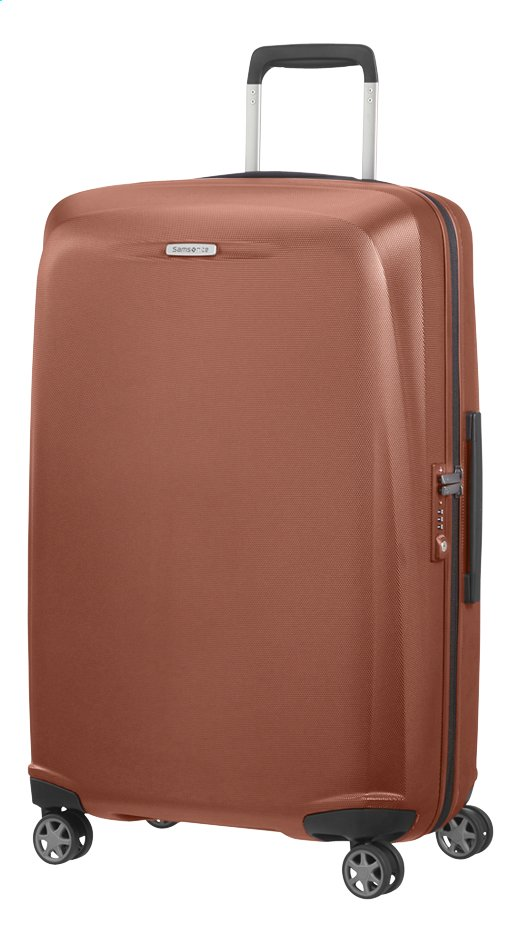 Afbeelding van Samsonite Harde reistrolley Starfire Spinner orange rust from ColliShop