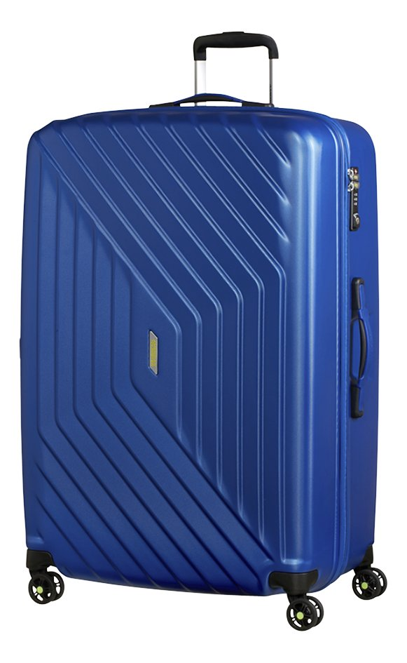 Afbeelding van American Tourister Harde reistrolley Air Force 1 Spinner insignia blue 81 cm from ColliShop