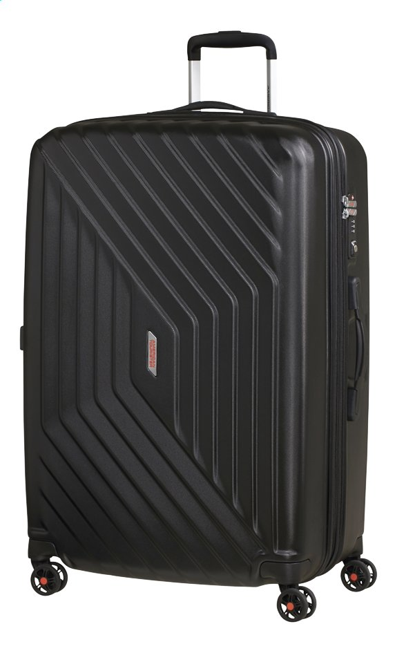 Afbeelding van American Tourister Harde reistrolley Air Force 1 Spinner EXP galaxy black 76 cm from ColliShop