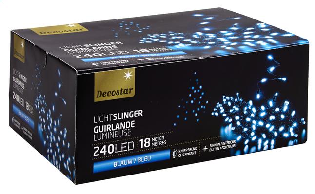 Image pour Guirlande lumineuse LED L 18 m bleu à partir de ColliShop