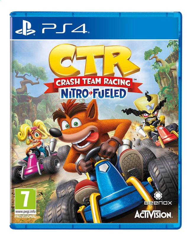 Image pour PS4 Crash Team Racing Nitro-Fueled ANG à partir de ColliShop