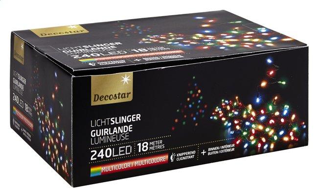Image pour Guirlande lumineuse LED L 18 m multicolore à partir de ColliShop