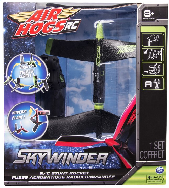 Afbeelding van Air Hogs stuntraket RC Skywinder groen from ColliShop