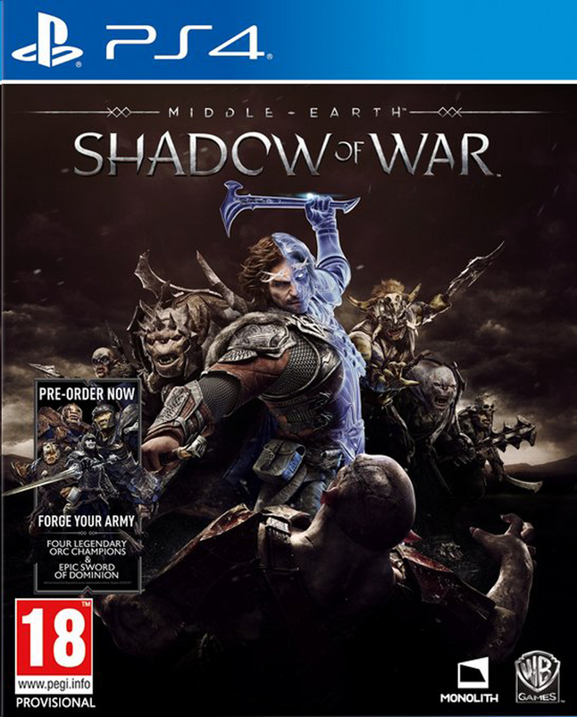 Afbeelding van PS4 Middle-Earth Shadow of War ENG/FR from ColliShop