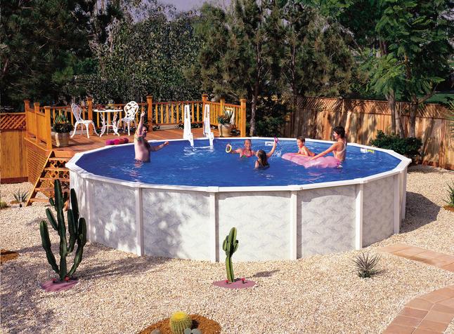 Interline ensemble piscine diana diam tre 5 50 m collishop for Liner piscine diametre 5 50
