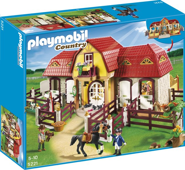 Afbeelding van Playmobil Country 5221 Grote paardenranch from ColliShop