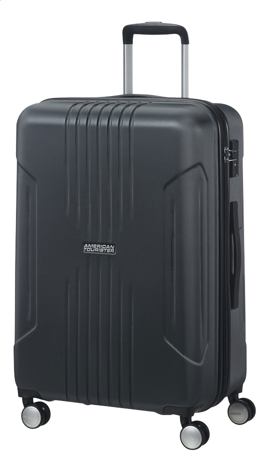 Image pour American Tourister valise rigide Tracklite Spinner Dark Slate 67 cm à partir de ColliShop