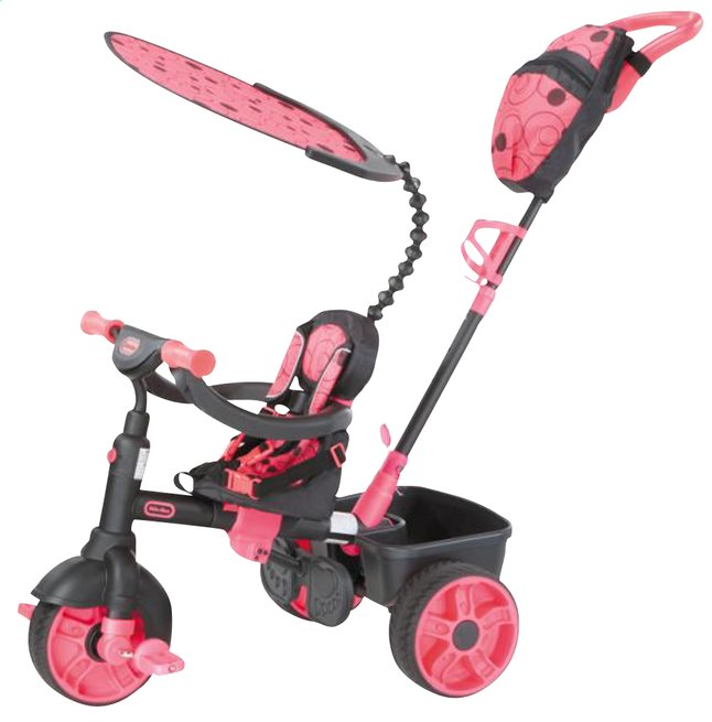 Afbeelding van Little Tikes driewieler 4-in-1 zwart/roze from ColliShop