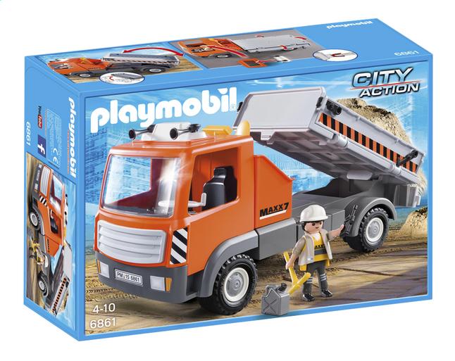Image pour Playmobil City Action 6861 Camion de chantier à partir de ColliShop
