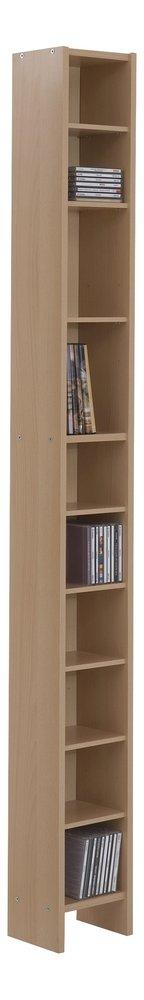 Image pour FMD meuble rangement CD/DVD Hallo 2 à partir de ColliShop