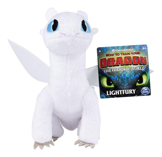 Pluche Dragons Premium Light Fury 20 cm