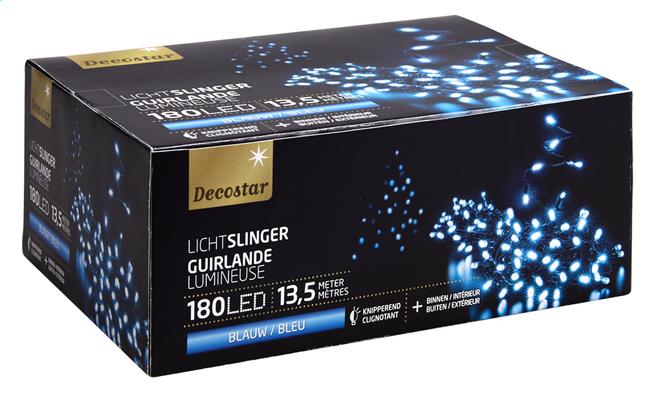 Image pour Guirlande lumineuse LED L 13,5 m bleu à partir de ColliShop