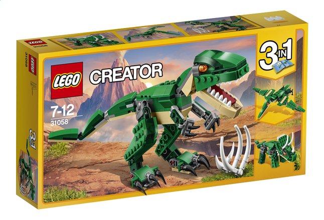 Image pour LEGO Creator 3 en 1 31058 Le dinosaure féroce à partir de ColliShop