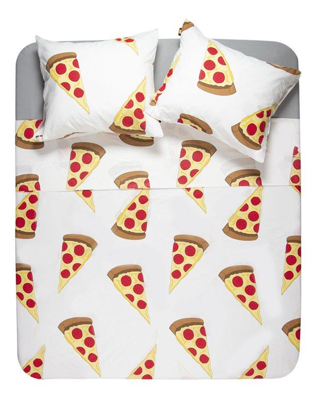 Gaaf Dekbedovertrek Pizza katoen