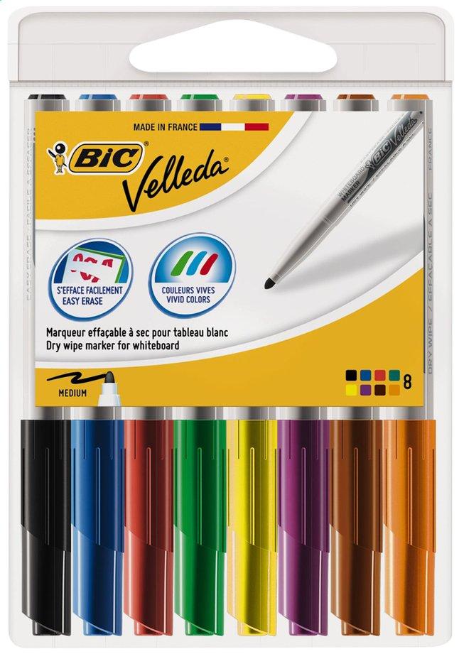 Image pour Bic feutre pour tableau blanc Velleda - 8 pièces à partir de ColliShop