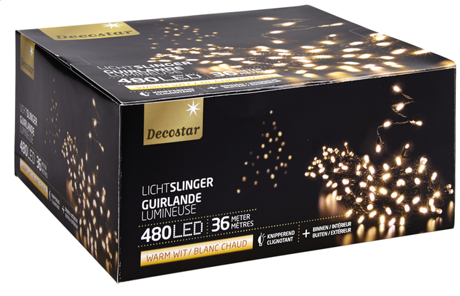 Afbeelding van Ledverlichting slinger L 36 m warm wit from ColliShop