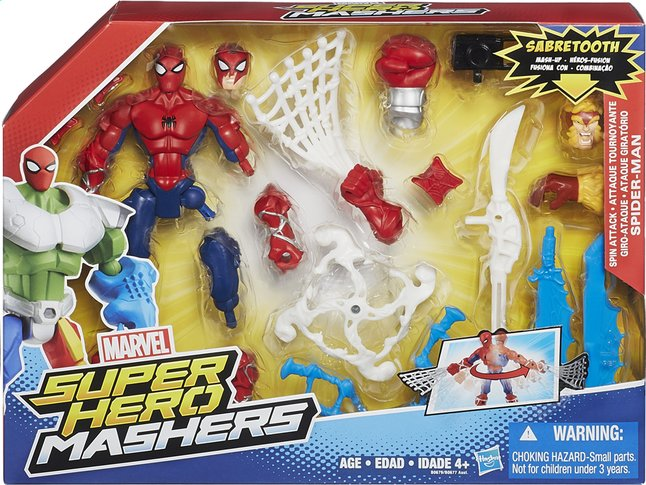 Afbeelding van Set Super Hero Mashers Mash-Up Spider-Man from ColliShop