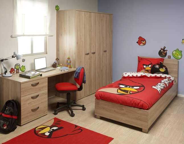 D co chambre angry birds for Deco kamer