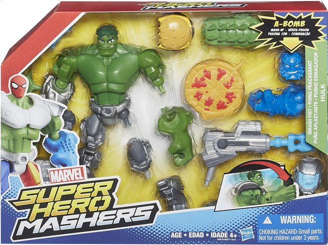 Afbeelding van Set Super Hero Mashers Mash-Up Hulk from ColliShop