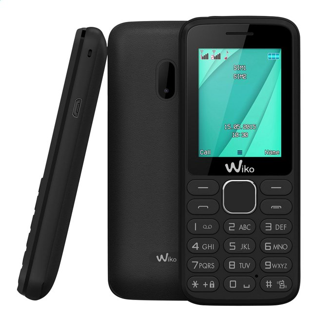 Image pour Wiko GSM Lubi 4 noir à partir de ColliShop