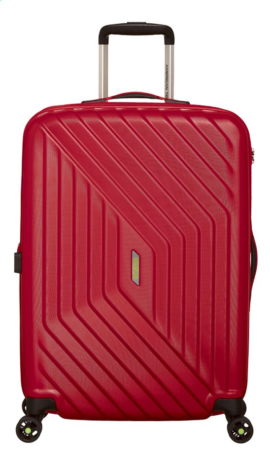 Afbeelding van American Tourister Harde reistrolley Air Force 1 Spinner EXP flame red 66 cm from ColliShop