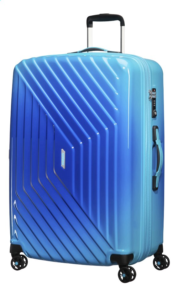 Afbeelding van American Tourister Harde reistrolley Air Force 1 Spinner EXP gradient blue 76 cm from ColliShop