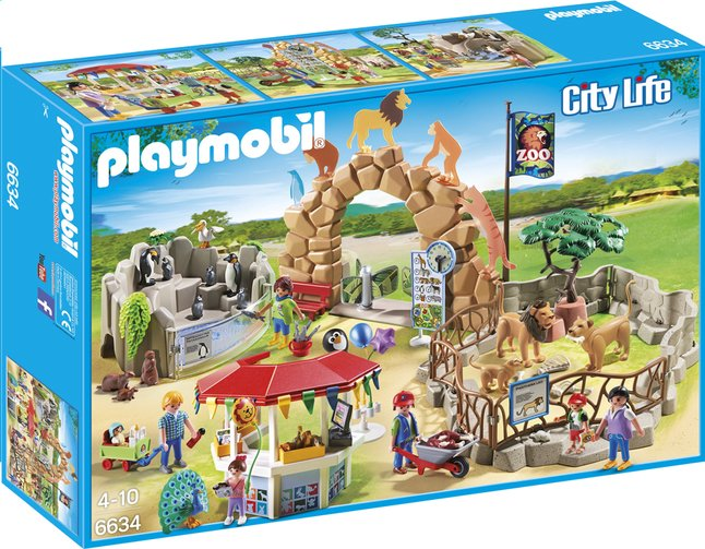 Afbeelding van Playmobil City Life 6634 Grote zoo from ColliShop