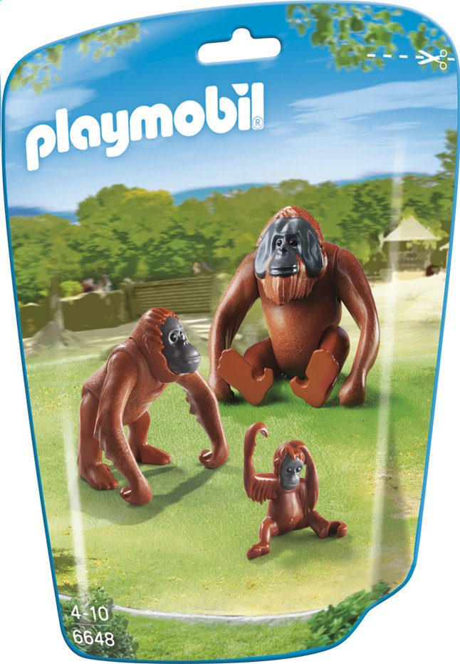 Afbeelding van Playmobil City Life 6648 Orang-oetans met kind from ColliShop