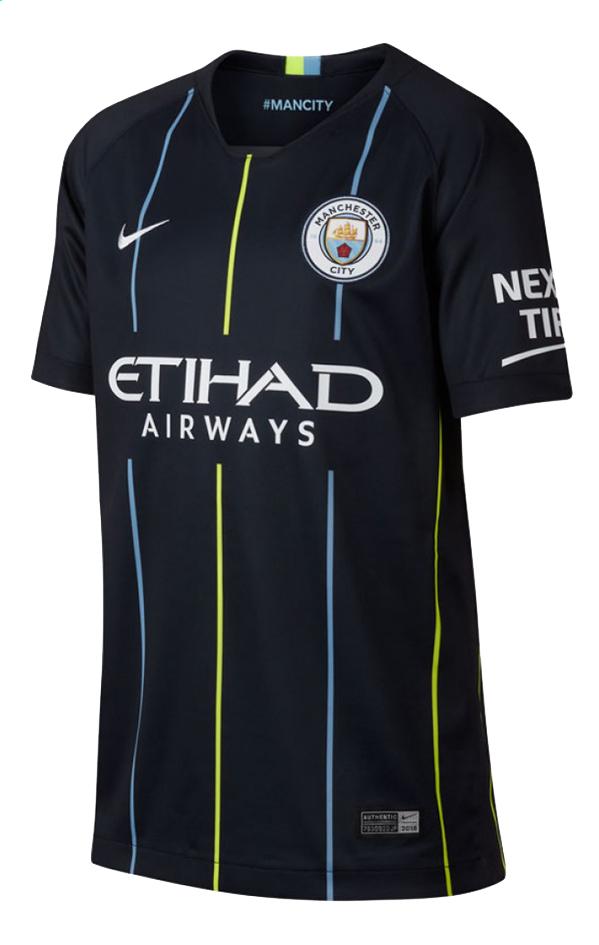 Image pour Nike maillot de football Manchester City Kids noir S à partir de ColliShop