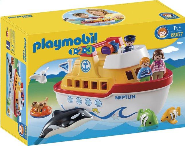 Afbeelding van Playmobil 1.2.3 6957 Meeneemschip from ColliShop