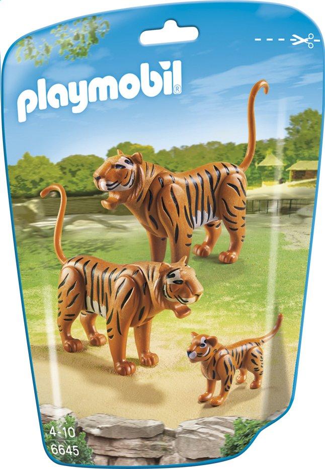 Image pour Playmobil City Life 6645 Couple de tigres avec bébé à partir de ColliShop