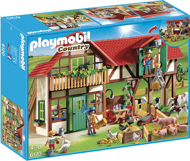 Afbeelding van Playmobil Country 6120 Grote boerderij from ColliShop