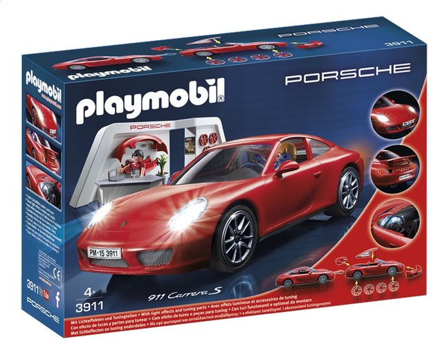 Afbeelding van Playmobil Sports & Action 3911 Porsche 911 Carrera S from ColliShop