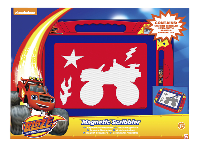 Afbeelding van Magische lei Blaze en de Monsterwielen from ColliShop