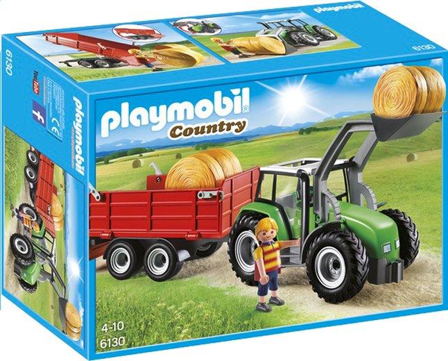 Image pour Playmobil Country 6130 Tracteur avec pelle et remorque à partir de ColliShop
