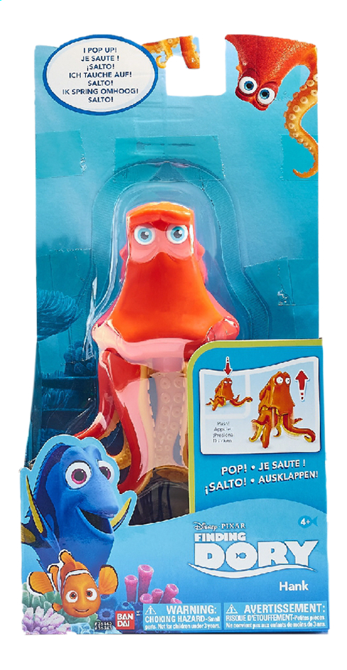 Image pour Figurine Disney Le Monde de Dory Hank avec fonction à partir de ColliShop