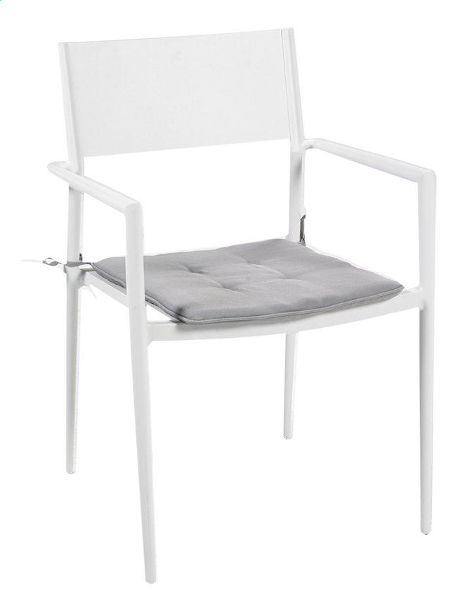 Image pour Chaise de jardin Sandy gris/blanc à partir de ColliShop