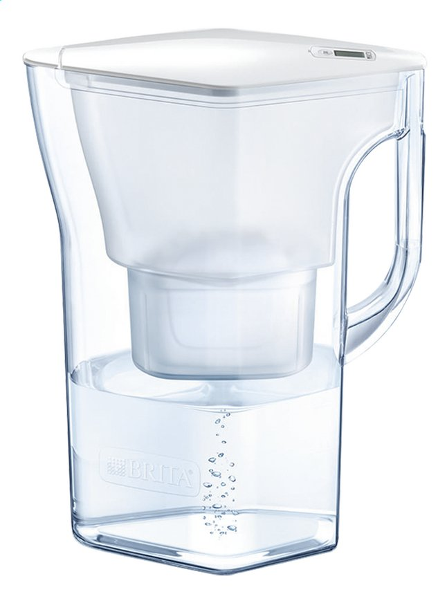 Afbeelding van Brita Waterfilter fill & enjoy Navelia cool white 2,3 l from ColliShop