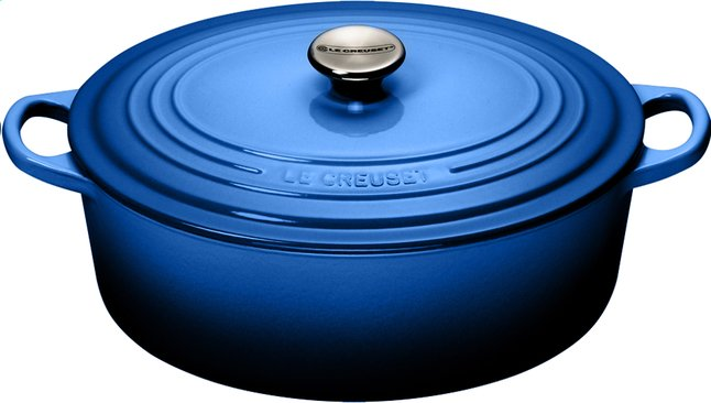 Afbeelding van Le Creuset ovale stoofpan Tradition lapis 31 cm - 6,3 l from ColliShop