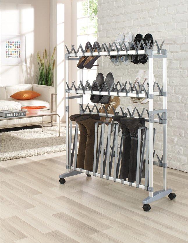 Afbeelding van Ruco aluminium schoenen-/laarzenrek from ColliShop