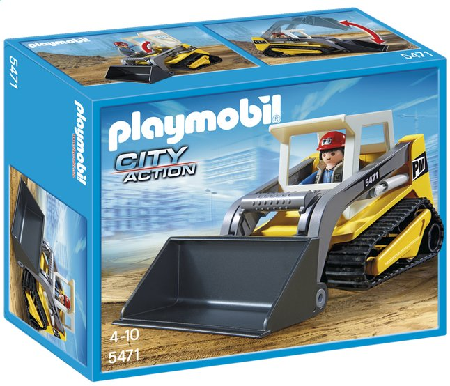 Afbeelding van Playmobil City Action 5471 Rups bulldozer from ColliShop
