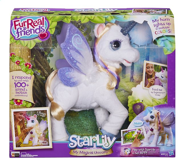Afbeelding van FurReal Friends peluche interactive StarLily My Magical Unicorn FR from ColliShop