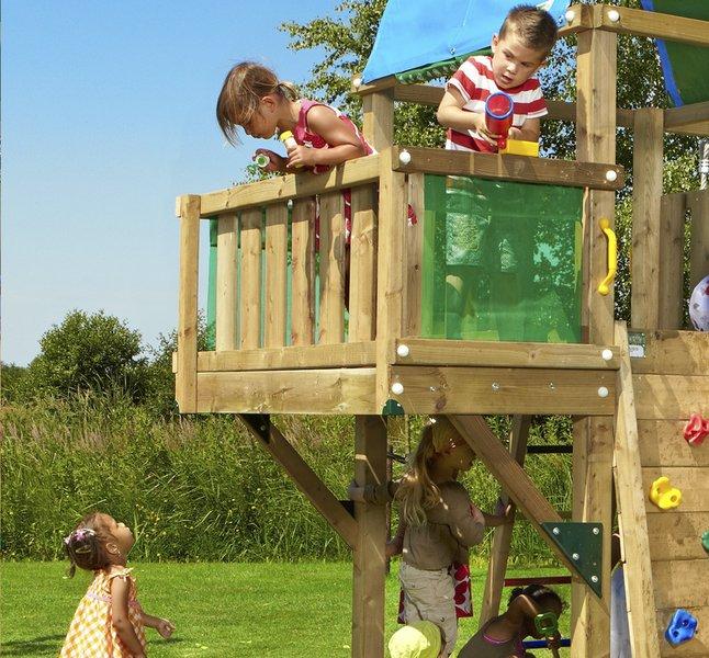 Image pour Module balcon pour Barn/De Hut/Cubby à partir de ColliShop