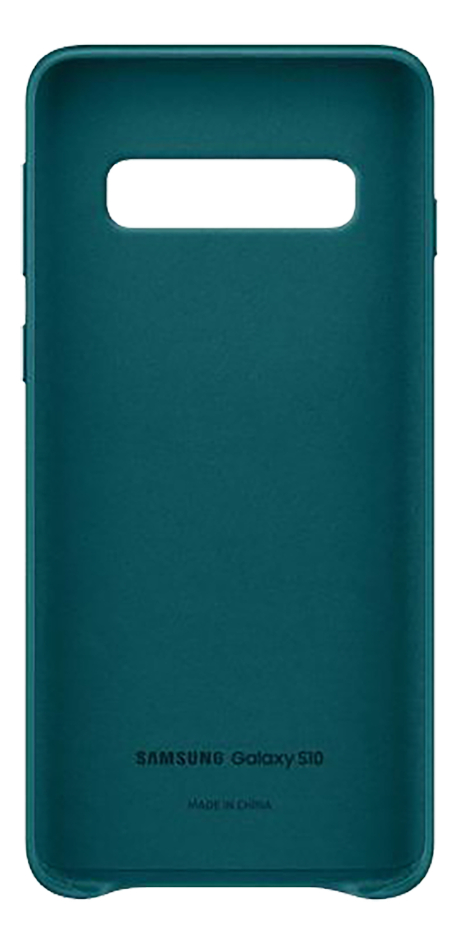 Samsung coque Leather Cover pour Galaxy S10 Green