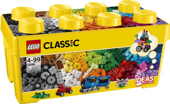 Image pour LEGO Classic 10696 Creative Brick Box Medium à partir de ColliShop