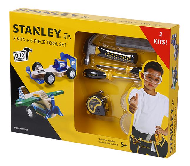 Stanley Jr. 2 kits de construction + outils