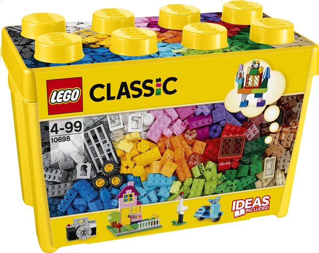 Afbeelding van LEGO Classic 10698 Creative Brick Box Large from ColliShop