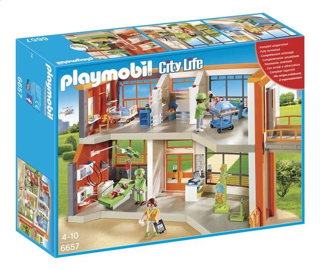 Afbeelding van Playmobil City Life 6657 Compleet ingericht kinderziekenhuis from ColliShop
